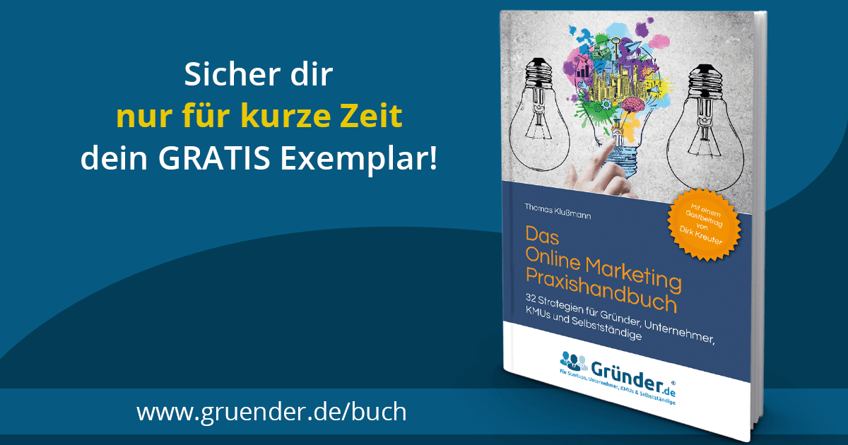 Das Buch von Thomas Klußmann - thomas klußmann online marketing