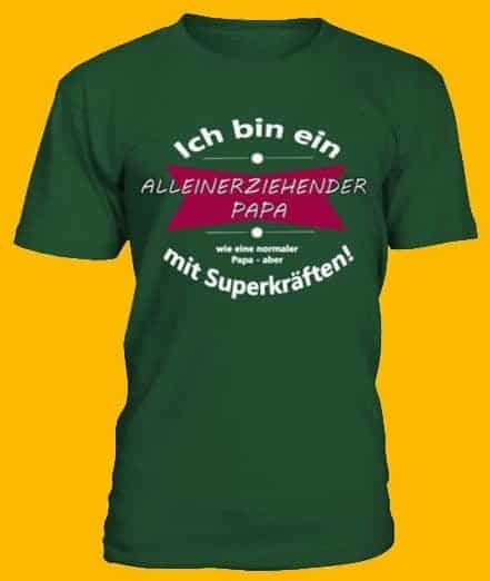 Mein erstes Shirt überhaupt - Papa mit Superkräften