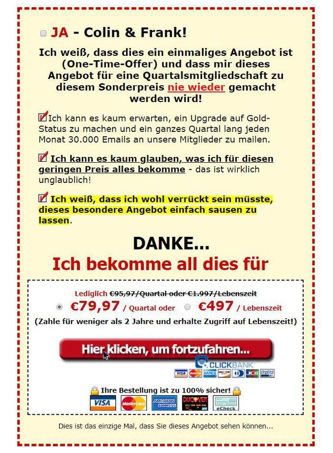 ViralUrl.de - ein Erfahrungsbericht - Angebot 1
