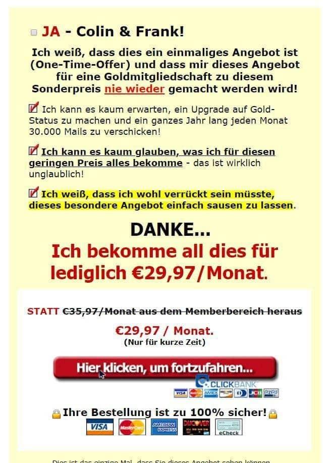 ViralUrl.de - ein Erfahrungsbericht - Angebot 2
